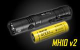 Nitecore Multitask Hybrid Series - MH10 V2 - 1200 Lumens - USB Rechargeable
