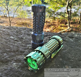 Mechtorch Gen2 Torch/Flashlight - Green Anodized Titanium