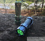 Mechtorch Gen2 Torch/Flashlight - Blue Anodized Titanium