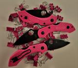 Spyderco - Dragonfly 2 - Black CPM S30V Blade - Pink FRN Handle