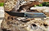 Jake Hoback Radford - Black DLC CPM-20CV Blade - Starry Night G-Carta and Titanium Handles