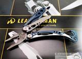 Leatherman Skeletool - Denim Blue Stainless Handles - 7 Tools