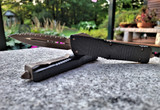Microtech Signature Series Combat Troodon D/E - Bronze Apocalyptic M390 Full Serrate Blade - Carbon Fiber Top Handle