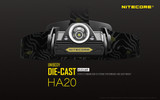 Nitecore Headlamp Series - HA20  - 300 Lumens