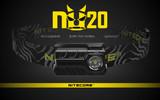 NITECORE 360 LUMEN  RECHARGEABLE NU20 RED HEADLAMP