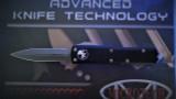 Microtech UTX-85 D/E - Apocalyptic Standard Blade - Black Handle
