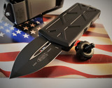 MICROTECH EXOCET D/E MONEY CLIP BLACK BLADE