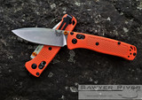BENCHMADE MINI BUGOUT IN ORANGE