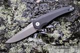 JAKE HOBACK ENOCH FLIPPER IN BLACK G10