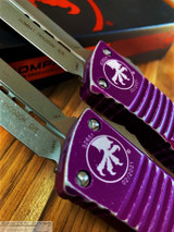 MICROTECH COMBAT TROODON D/E DISTRESSED VIOLET