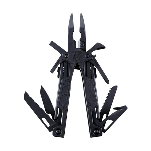LEATHERMAN BLACK OHT W / BLACK MOLLE SHEATH