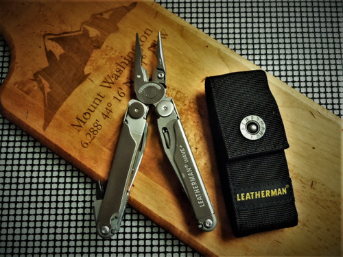 LEATHERMAN WAVE PLUS WITH NYLON SHEATH