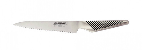 "GLOBAL 6"" SERRATED UTILITY KNIFE"