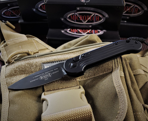 MICROTECH L.U.D.T. TACTICAL S/E BLACK BLADE