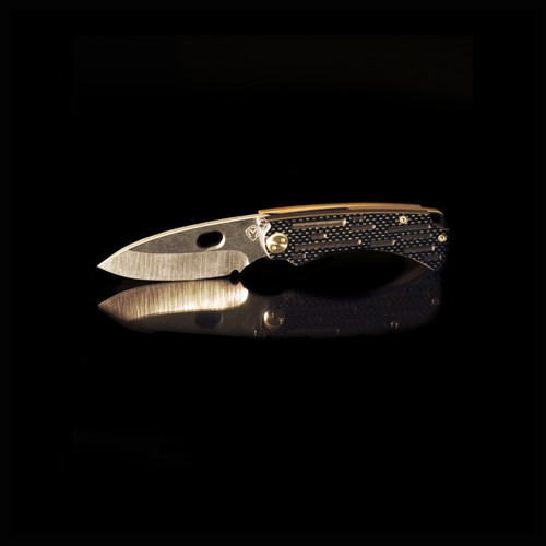 MEDFORD COLONIAL CARBON FIBER PVD GRIND AND PVD HARDWARE