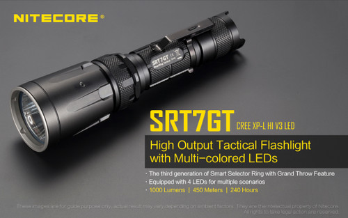 NITECORE SMART RING 1000 LUMEN SRT7GT