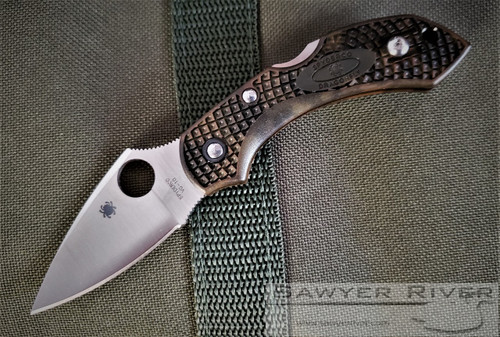 SPYDERCO ZOME GREEN DRAGONFLY