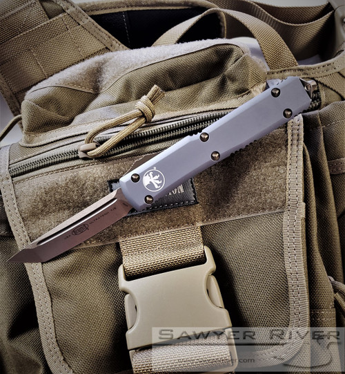 MICROTECH ULTRATECH BRONZE BLADE AND GRAY HANDLE