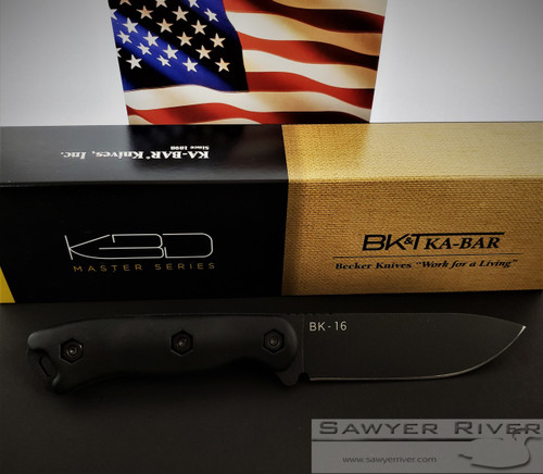 KA BAR BECKER SHORT DROP POINT BK16