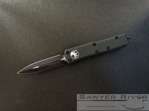 MICROTECH UTX-85 OD GREEN D/E BLACKED OUT