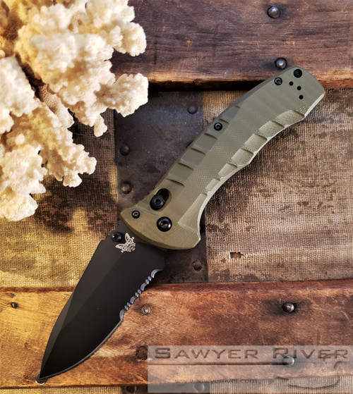 BENCHMADE TURRET G-10 FIRST PRODUCTION