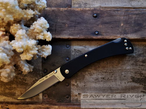 BUCK 110 SLIM HUNTER PRO BLACK G10