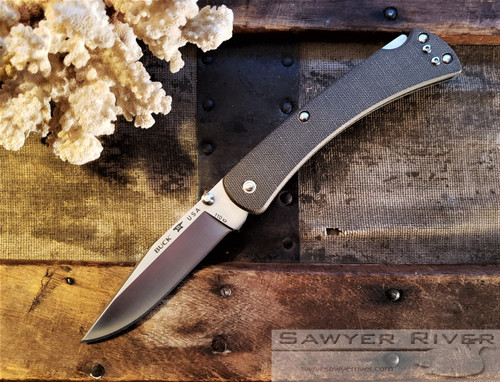 BUCK 110 SLIM PRO HUNTER OD GREEN