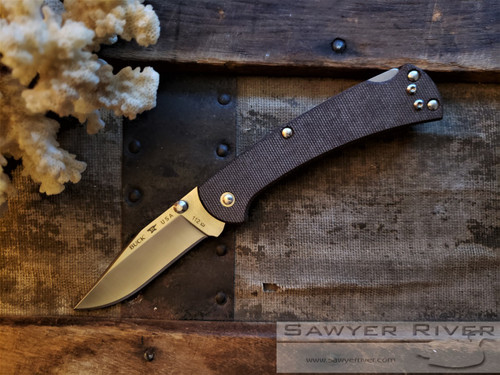 BUCK 112 SLIM RANGER PRO BROWN MICARTA