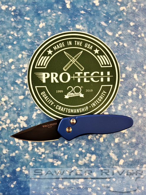 PRO-TECH KNIVES SPRINT BLUE HANDLE