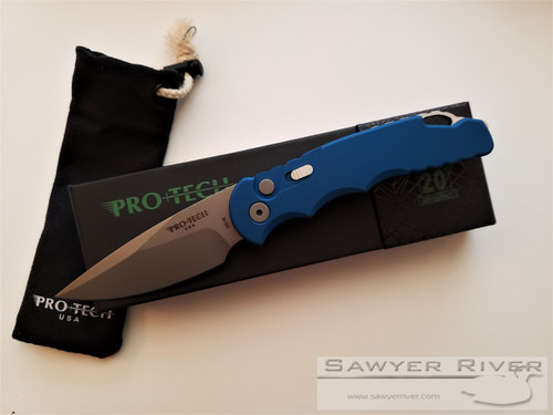 PRO-TECH KNIVES TACTICAL RESPONSE TR-5 IN BLUE