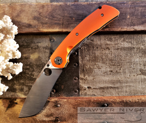SPYDERCO SUBVERT ORANGE HANDLE