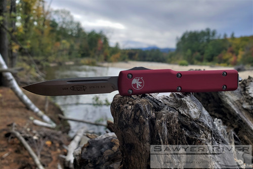 MICROTECH UTX-70 RED HANDLE