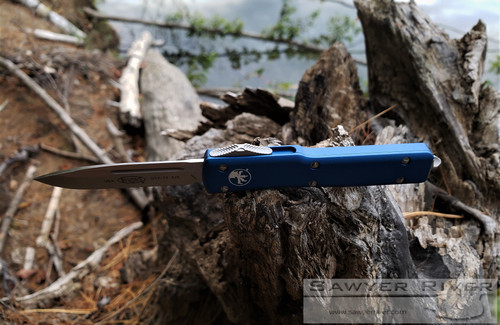 MICROTECH UTX-70 BLUE HANDLE