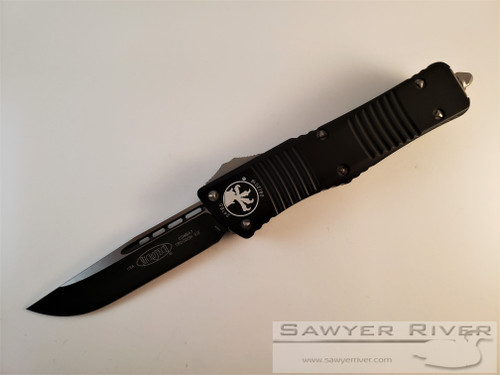 MICROTECH COMBAT TROODON WITH BLACK BLADE AND HANDLE