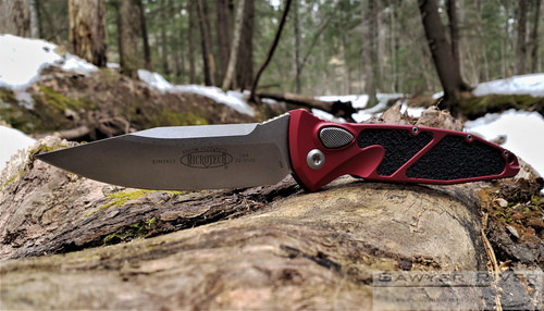 MICROTECH SOCOM ELITE AUTO WITH RED HANDLE