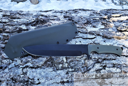 MEDFORD KNIFE AND TOOL BONFIRE 3V OD GREEN