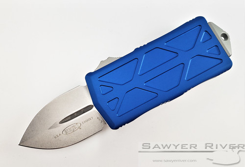 EXOCET WITH BLUE HANDLE AND STONWASH BLADE