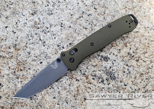 BENCHMADE BAILOUT 537GY-1 WOODLAND GREEN