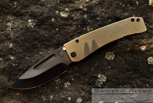 MEDFORD MIDI MARAUDER BRONZE FACED ANO HANDLES AND PVD BLADE