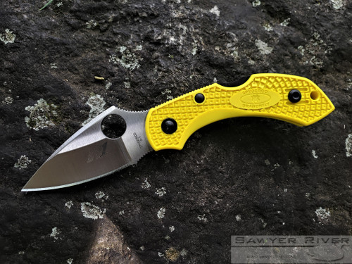 SPYDERCO DRAGONFLY 2 H-1 YELLOW