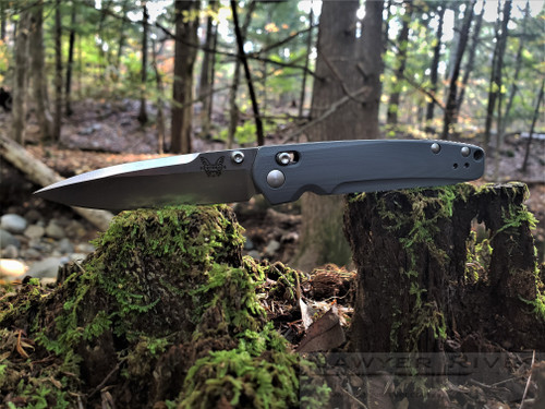 Benchmade Valet 485 - Satin Blade Gray Handle