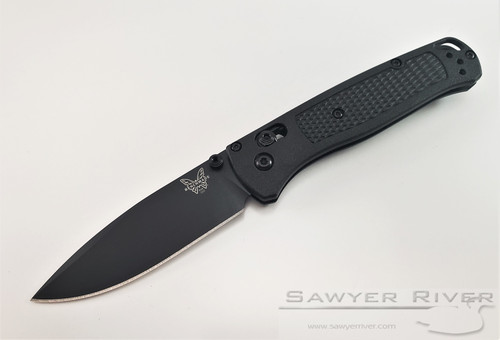 BENCHMADE BUGOUT ALL BLACK