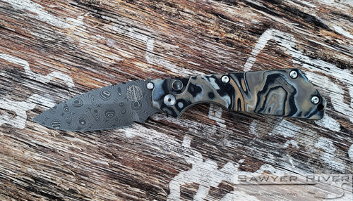 PRO-TECH STRIDER SNG WITH CHAD NICHOLS DAMASCUS