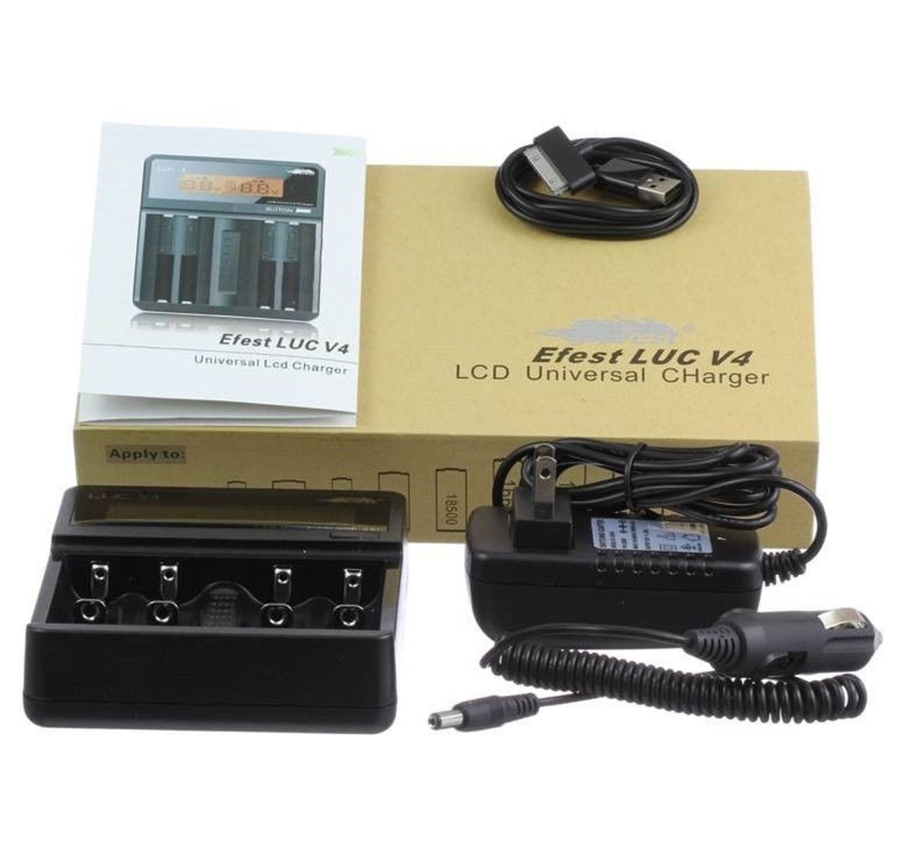 Efest 4 bay digital charger