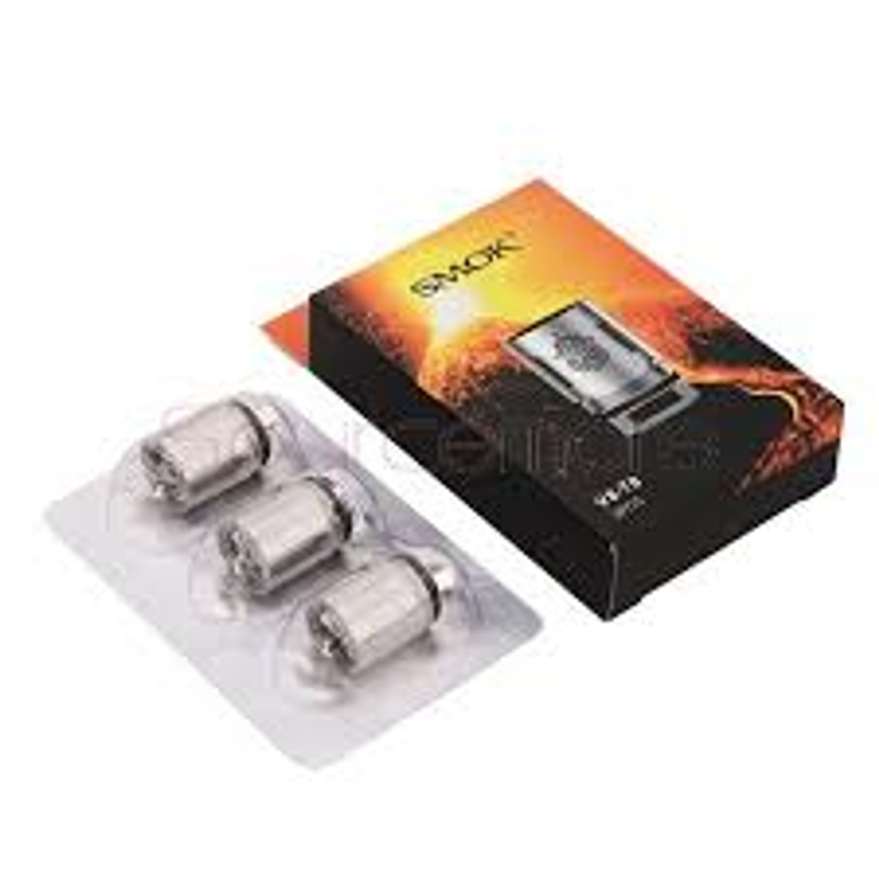 SMOK TFV8 V8-T8 Coils 3 Pack [0.15ohm]     Replacement coils for the TF-V8 Cloud Beast, bring a deep and rich cloud taste.     Features:  Turbo: 6.6T Patented Octuple Coil 0.15Ohm (50-260W / BEST 120-180W)