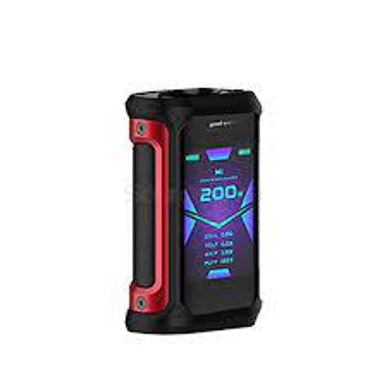 Geekvape Aegis X 200W Box Mod Red Black
