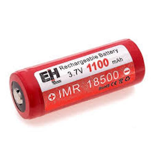 2 Efest 18500 IMR V1 Flat Top 1100mah 3.7v Battery Batteries