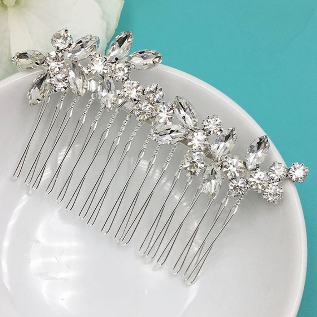 Addison Crystal Bridal Comb