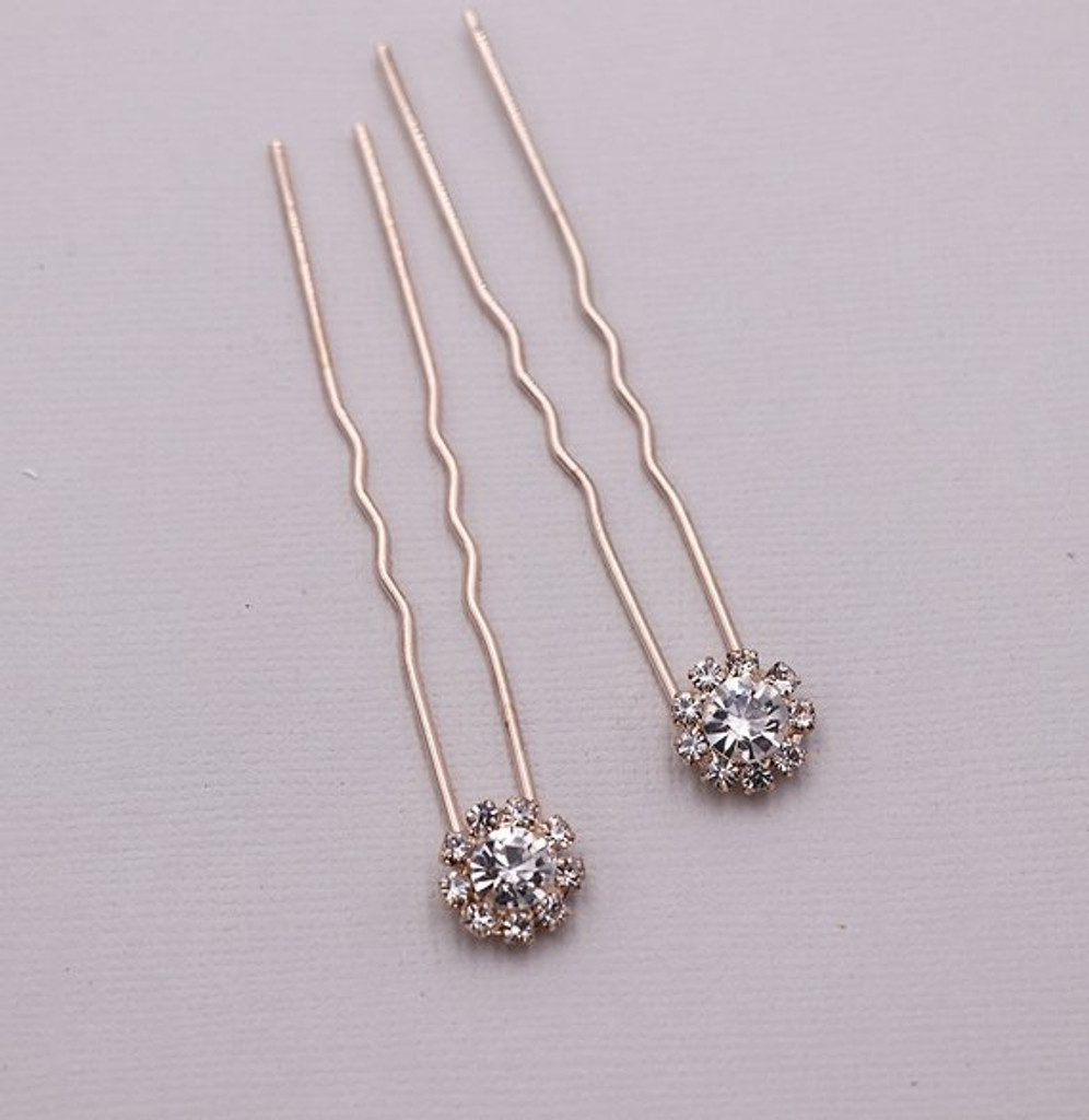Karina Rose Gold Hairpin