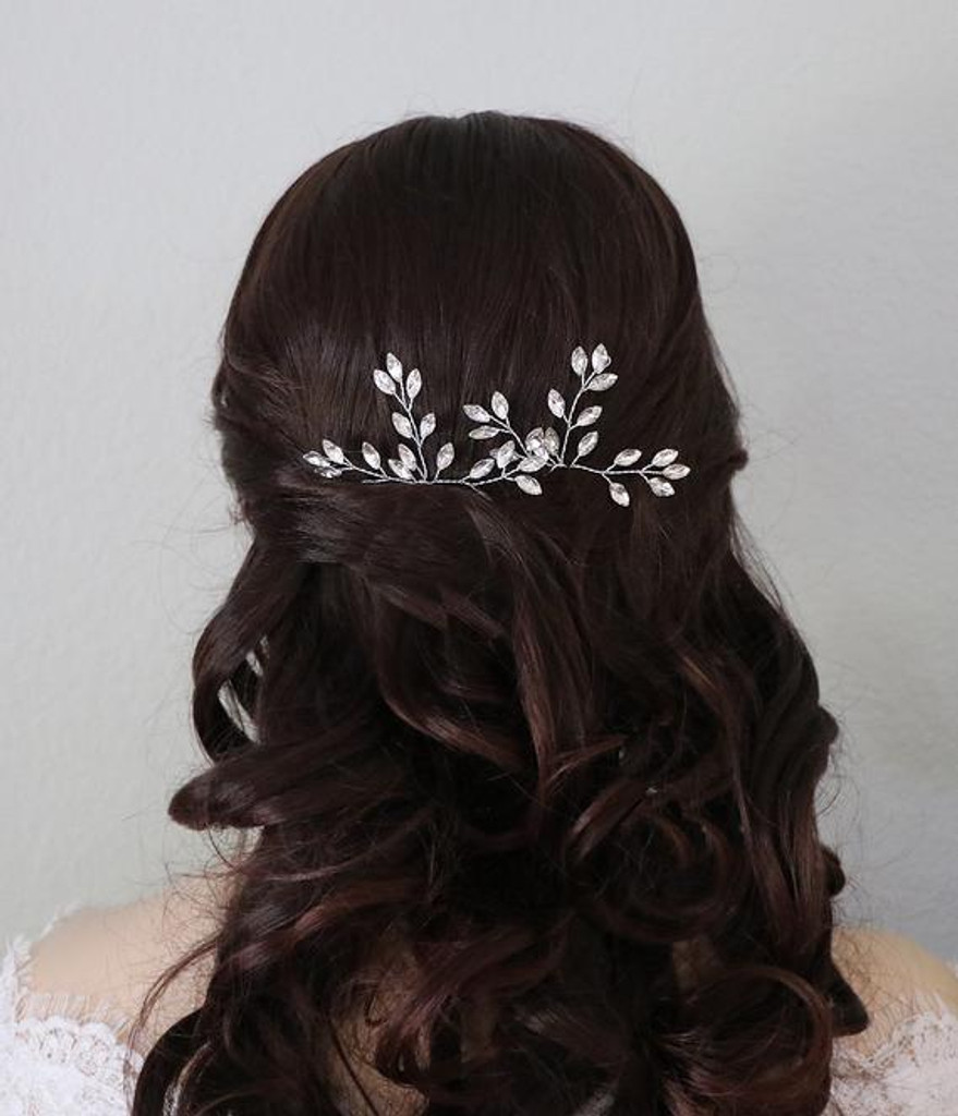 Candace Marquise Crystal Hairpin